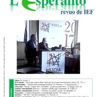 L'esperanto (anno 2017 - numero 3)