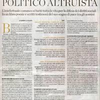 Giordano Azzi, politico altruista