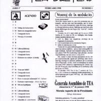 TEA-Bulteno (2, 1a jaro)