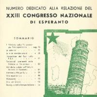 L'esperanto (anno 1951 - numeri 5/6 - 11/12 nuova serie)