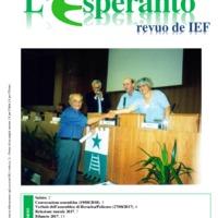 L'esperanto (anno 2018 -  Plenkunsida Informa-Bulteno)