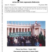 L'esperanto (anno 2002 - numero 1)