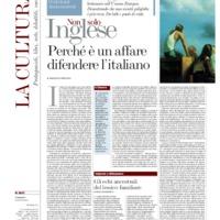 Perché è un affare difendere l'italiano