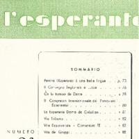 L'esperanto (anno 1953 - numero 6 - 24 nuova serie)