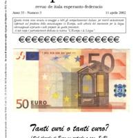 L'esperanto (anno 2002 - numero 3)