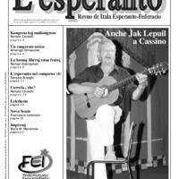 L'esperanto (anno 2009 - numero 5)