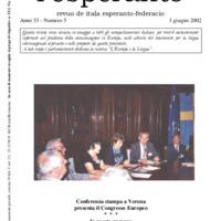 L'esperanto (anno 2002 - numero 5)