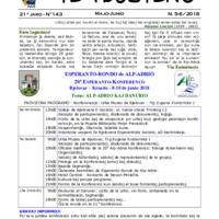 TEA-Bulteno (2018, 05/06)