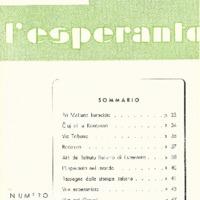L'esperanto (anno 1954 - numero 3 - 27 nuova serie)