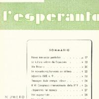 L'esperanto (anno 1954 - numero 2 - 26 nuova serie)