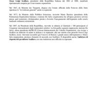 Oscar Luigi Scalfaro e l'esperanto