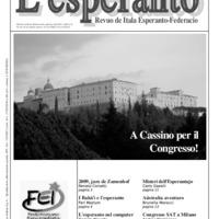 L'esperanto (anno 2009 - numero 2)