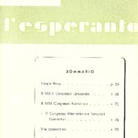 L'esperanto (anno 1954 - numero 5 - 29 nuova serie)