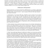 Deklaracio pri Esperantismo