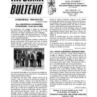 Informa Bulteno (settembre 2008)