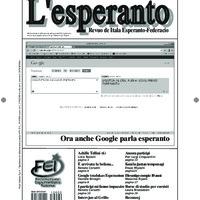 L'esperanto (anno 2012 - numero 2)