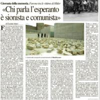 Chi parla l'esperanto è sionista e comunista