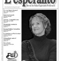L'esperanto (anno 2009 - numero 1)