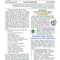 TEA-Bulteno (01/02, 22a jaro)