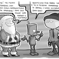 Fumetto: Babbo Natale