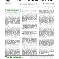 TEA-Bulteno (2013, 11/12)