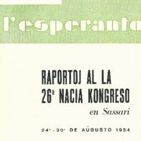 L'esperanto (anno 1954 - numero 4 - 28 nuova serie)