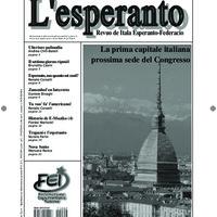 L'esperanto (anno 2011 - numero 1)