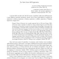 Le fonti slave dell'esperanto