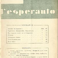 L'esperanto (anno 1950 - numero 3 - 3 nuova serie)