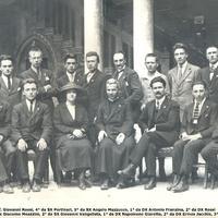 Foto dei primi soci del Vicenza Esperanto Centro