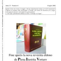 L'esperanto (anno 2002 - numero 6)