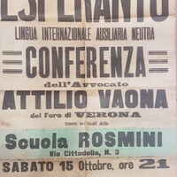 Esperanto: lingua internazionale ausiliaria neutra