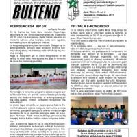 Informa Bulteno (settembre 2011)