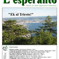 L'esperanto (anno 2019 - numero 1)