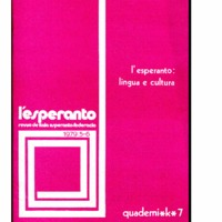 L'esperanto (anno 1979 - numero 5/6)