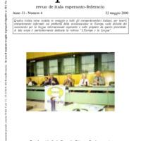 L'esperanto (anno 2000 - numero 4)