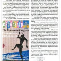 Esperanto in congresso