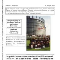 L'esperanto (anno 2001 - numero 5)