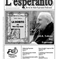L'esperanto (anno 2014 - numero 2)