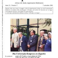 L'esperanto (anno 2001 - numero 7)