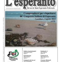 L'esperanto (anno 2013 - numero 6)