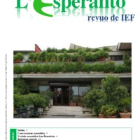 L'esperanto (anno 2016 - Plenkunsida Informa-Bulteno)