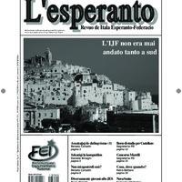 L'esperanto (anno 2013 - numero 1)
