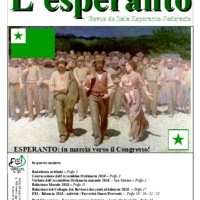 L'esperanto (anno 2019 - numero 3)