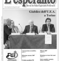 L'esperanto (anno 2008 - numero 3)