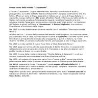 """Breve storia della rivista """"L'esperanto"""""""