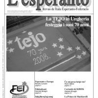 L'esperanto (anno 2008 - numero 5)