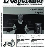 L'esperanto (anno 2008 - numero 1)