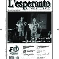 L'esperanto (anno 2012 - numero 5)