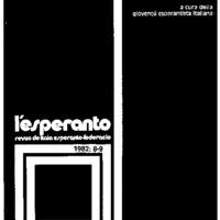 L'esperanto (anno 1982 - numero 8/9)